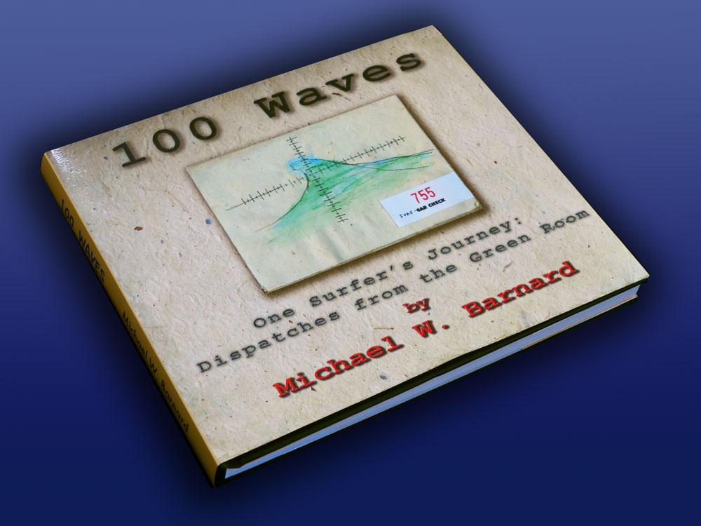 100wavesbookonblue