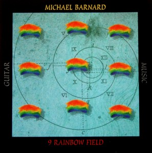 Cover art for the 1st CD of Michael W. Barnard's guitar music. Designed by Fahrenheit Studios.